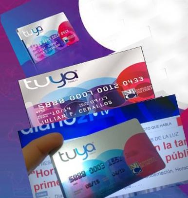 Tarjeta Tuya - como consultar saldo, sacar resumen, activar y donde pagar